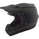 Black Mono SE4 Helmet