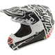 Youth White/Black Factory SE4 Helmet