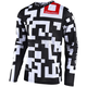 Youth White/Black GP Air Maze Jersey