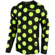 Youth Black/Fluorescent Yellow GP Air Polka Dot Jersey