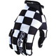 Black/White Air Checker Gloves