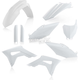 White Replacement Full Plastic Kit - 2630700002