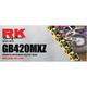 Gold 420 MXZ4 Heavy Duty Chain - GB420MXZ4-134