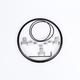 Motorcycle Adapter Headlight Ring Kit - 0703411