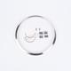 Chrome Headlight Adapter Ring Kit - 0703371