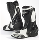 White/Black Latigo Air Road Race Boots