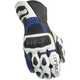 White/Blue Latigo 2 RR Gloves