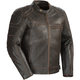 Vintage Brown Dino Leather Jacket