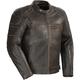 Vintage Brown Dino Leather Jacket