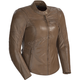 Women's Vintage Brown Bella Leather Jacket
