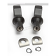 Satin Black Tapered Peg Adapter Mounts - 8892