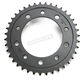 Induction Hardened Black Zinc Finished 520 39 Tooth Rear Sprocket - JTR1303.39ZB