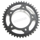 Induction Hardened Black Zinc Finished 525 42 Tooth Rear Sprocket - JTR1304.42ZB