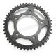 Induction Hardened Black Zinc Finished 525 47 Tooth Rear Sprocket - JTR1304.47ZB