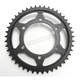 Induction Hardened Black Zinc Finished 530 45 Tooth Rear Sprocket - JTR479.45ZBK