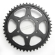 Induction Hardened Black Zinc Finished 530 45 Tooth Rear Sprocket - JTR816.45ZBK