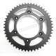 Induction Hardened Black Zinc Finished 520 50 Tooth Rear Sprocket - JTR897.50ZBK