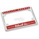 Quality License Plate Frame - LP-ZIN-DC-QC