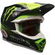 Green/Black Moto-9 Eli Tomac ET3 Replica Helmet