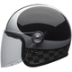 Black/Silver Riot Checks Helmet