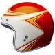 Metallic Orange/White Custom 500 Copperhead Limited Edition Helmet