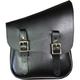 Black/Black Half & Half Bag for the Right Side - HHBRBLB