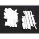 White Radiator Louvers - 8459800001