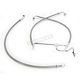 Natural XR Stainless Extreme Response Front Brake Line Kit - Stock Length Non-ABS - SSC1313-23