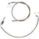 Natural XR Stainless Extreme Response Front Brake Line Kit w/ABS Stock Length - SSC1325-23