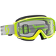 Yellow/Gray Split OTG Goggles w/Clear Lens - 262599-4331113