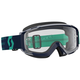 Blue/Teal Split OTG Goggles w/Clear Lens - 262599-5572113