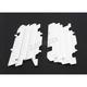 White Radiator Louvers - 8459900001