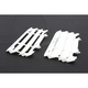 White Radiator Louvers - 8985500002