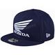 Navy Honda Snapback Hat - 712517310