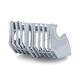 Chrome Precision Coolant Pump Cover - 6414