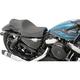 Black Basket Weave Stitch 2-Up Caballero Seat - 0804-0671