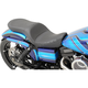 Black Mild Stitch Low Profile Touring Seat - 0803-0559