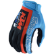 Youth Navy/Cyan Air KTM Team Gloves