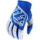 Blue/White GP Gloves