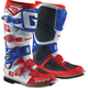 White/Blue/Red SG-12 Boots