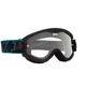 Blue Highlighter Targa 3 MX Goggles - 320809025097