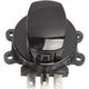 Black Side Hinge Ignition Switch w/Saddlebag Lock - 2106-0408