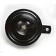 Black Large 12V Economy Horn - 11-0200
