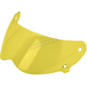Yellow Face Shield for Lane Splitter Helmet - FS-YEL-LS-SD