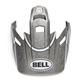 Matte Titanium/SilverBlack Visor for MX-9 Adventure RSD Helmets - 7086425