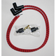 Red/Black Classic Thunder Braided Cloth Wire Set - C76281