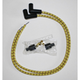 Yellow/Black/Red Classic Thunder Braided Cloth Wire Set - C76481