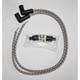 Grey/Brown Classic Thunder Braided Cloth Wire Set - C76101