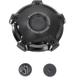 Black Ops Misano Billet Aluminum Gas Cap - 0210-2029-SMB