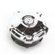 Chrome Misano Fuel Gauge Cap with LED Fuel Gauge - 0210-2031-CH
